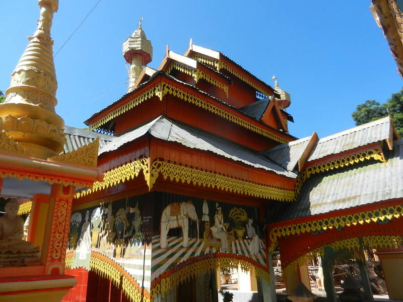 Мьянмский храм Тамбодхи