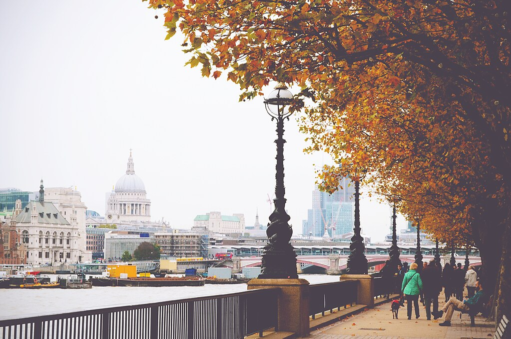 Southbank London | via It's Travel O'Clock