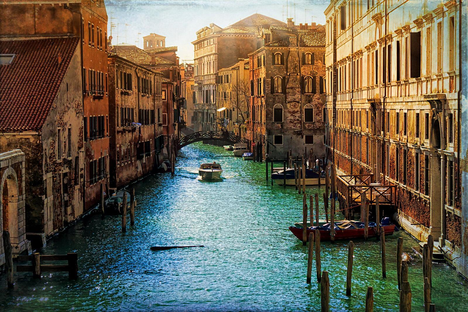 Textured Canal Shot