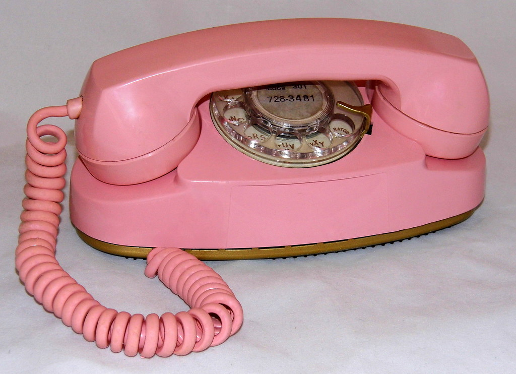 Auctions In Ohio >> Vintage Western Electric Princess Rotary Dial Telephone, M… | Flickr