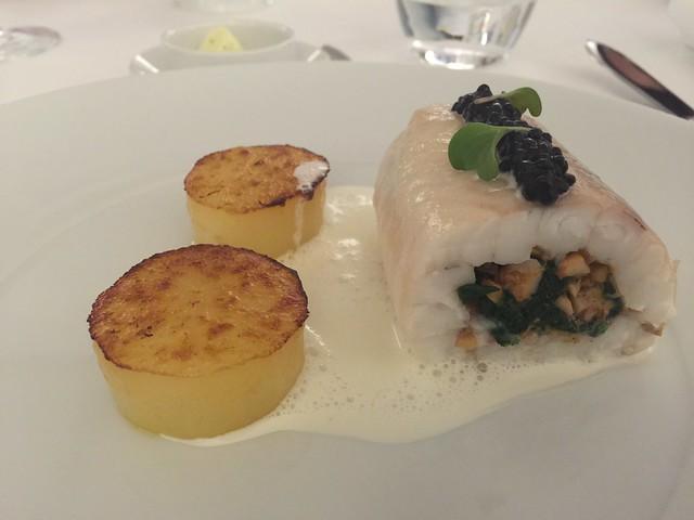 Plato del restaurante ANFORA (Lisboa)
