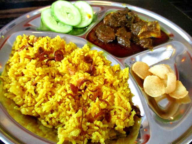 Islamic Nyonya Kafe bryani kambing