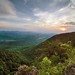Lover's Leap on the Blue Ridge Parkway