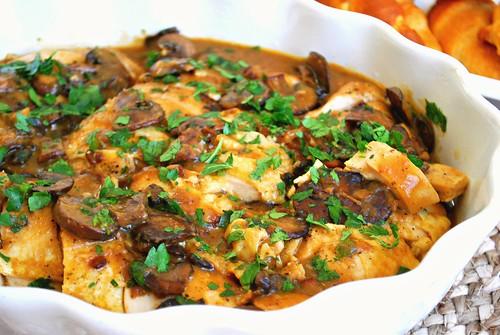 Instant Pot: Smothered Chicken & Mushrooms
