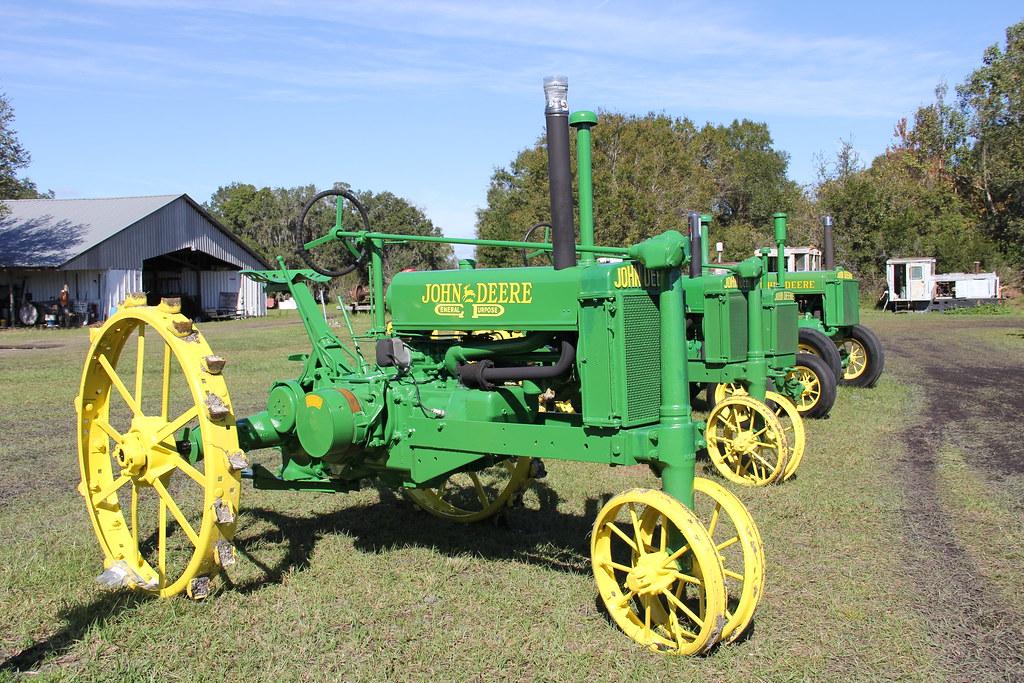Deere Tractors On Steel Wheels : John deere unstyled b bolt on steel wheels tractor