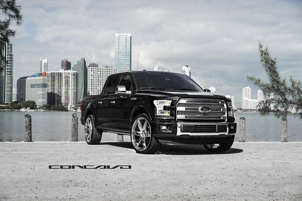 "New Ford F150 >> Ford F150 Platinum on 26"" Chrome CW6 