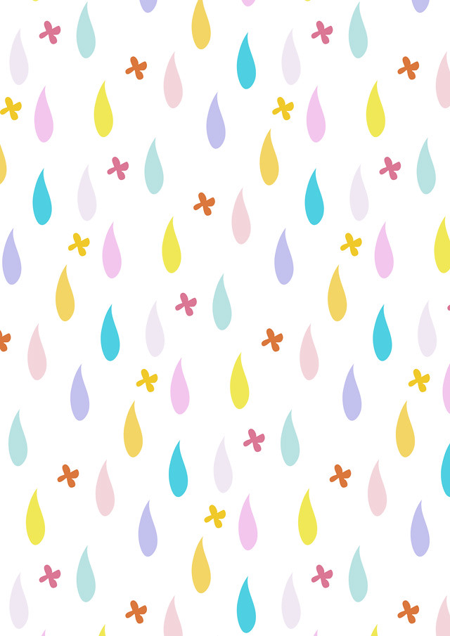 raindrop pattern by laura redburn » cardboardcities - creative lifestyle blog