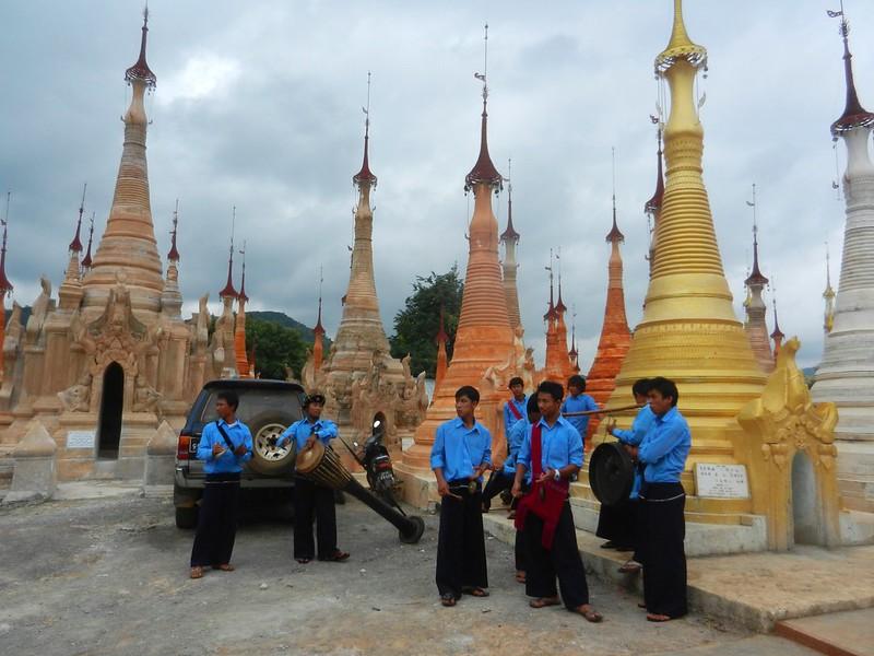 Индейн, Бирма