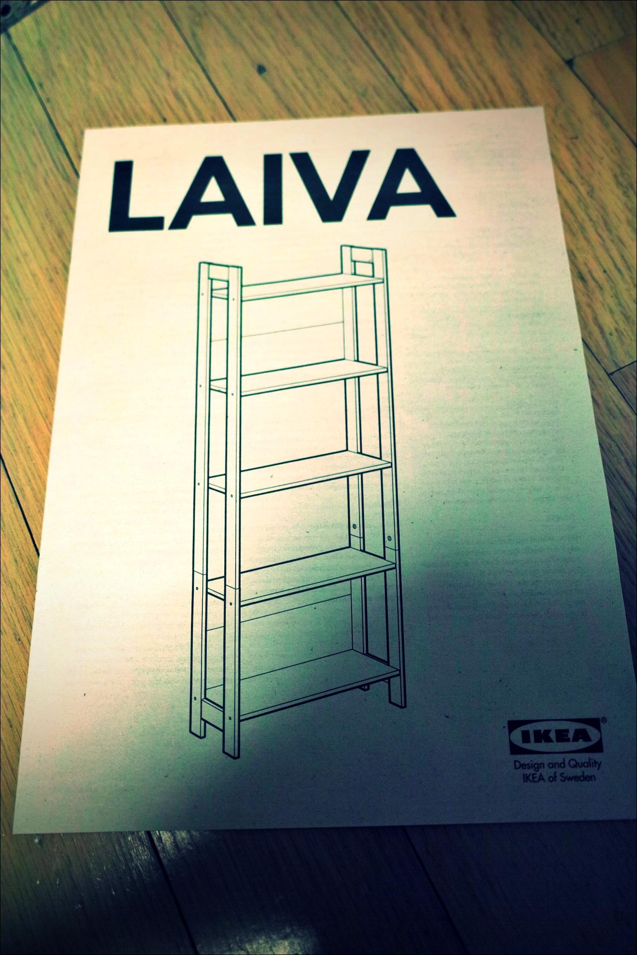 설명서-'이케아 가구 조립 노하우. How to assemble ikea furnitures'