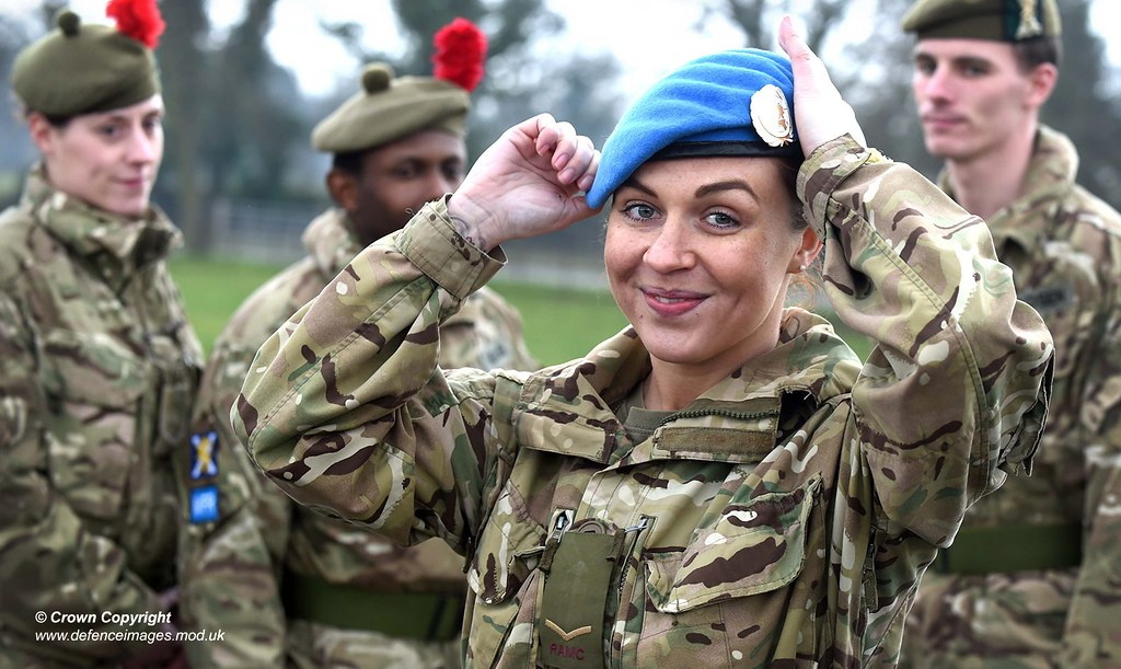 Scottish Soldiers Prepare For Un Peacekeeping Mission In C