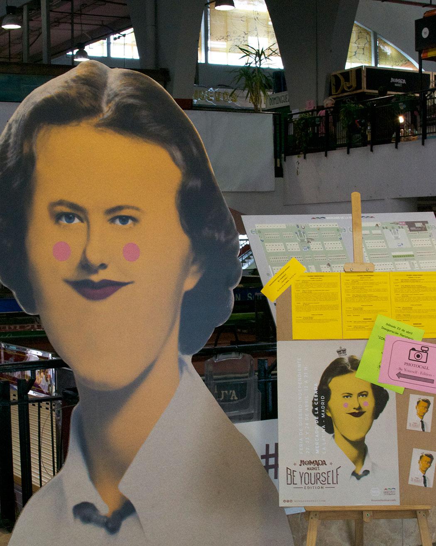 Nómada Market Be Yourself Edition en Mercado de la Cebada