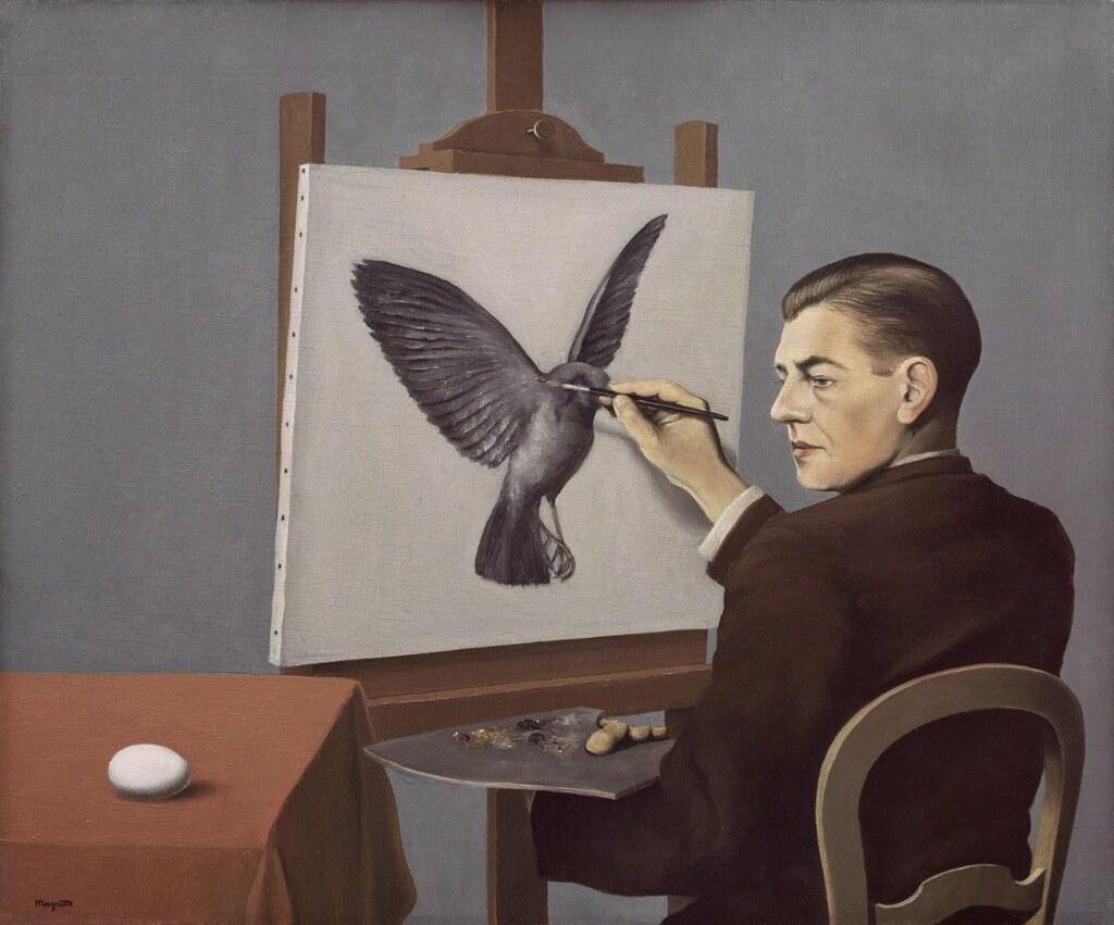 Ren 233 Magritte Clairvoyance 1936 Rene Magritte