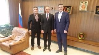 Η προβολή της Άρτας στη Ρωσία βασικό θέμα στη συνάντηση του Δημάρχου και του Ρώσου Πρέσβη
