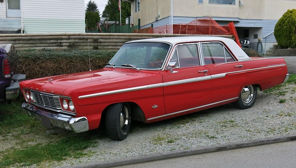 1965 Ford Fairlane 500 4 Door Sedan