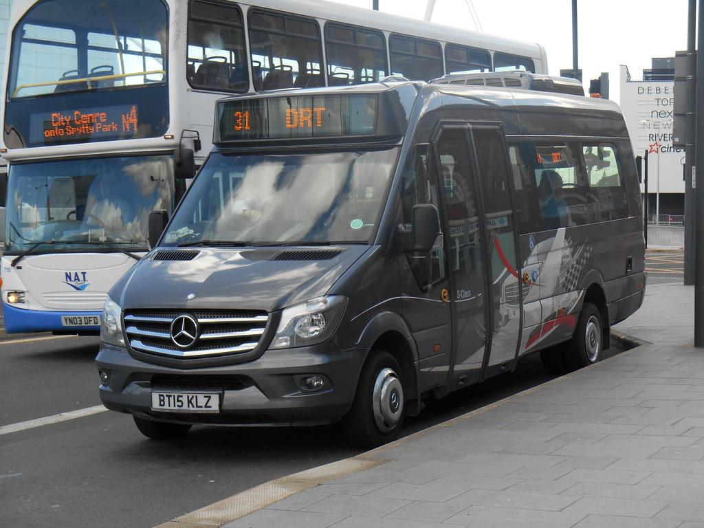 mercedes benz sprinter city 45 demonstrator newport bus flickr. Black Bedroom Furniture Sets. Home Design Ideas