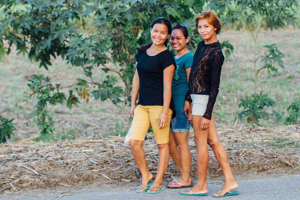 Bakla Transsexual With Friends, Negros Philippines | Flickr
