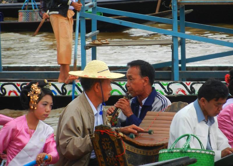 Мьянма, фестиваль Пхаунг До У