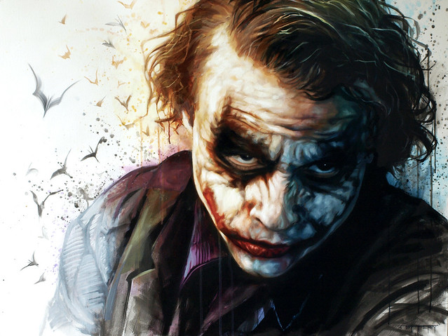 Heath Ledger Joker by Ben Jeffery