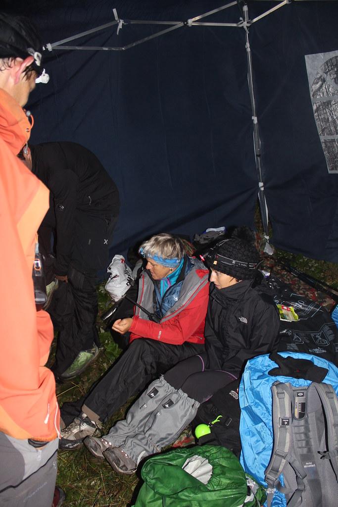 Salon de thé sous tente