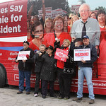 National Nurses's #BernieBus Iowa Swing Underway