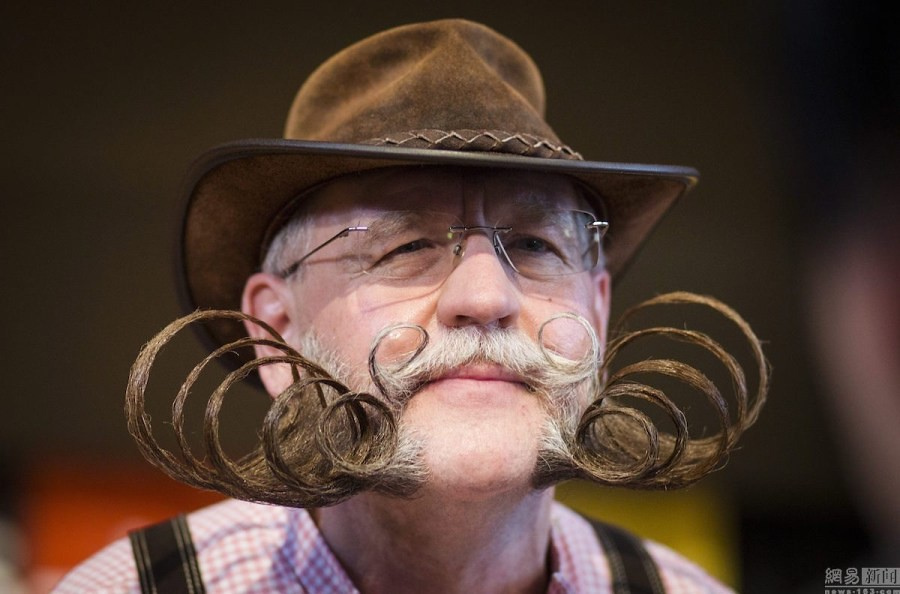 World beard Championships Germany States the opening beauty hair competition