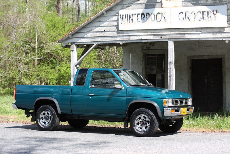 Vwvortex mint 95 nissan hardbody 4x4 with 66k original miles last photo is from the ad i had too much crap inside to take good photos but its just like new sciox Choice Image