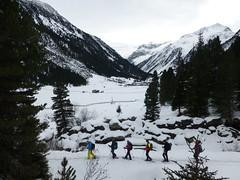 Schneeschuhwandern im Achental