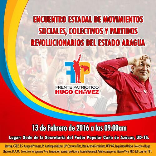 Frente Patriótico Hugo Chávez invita