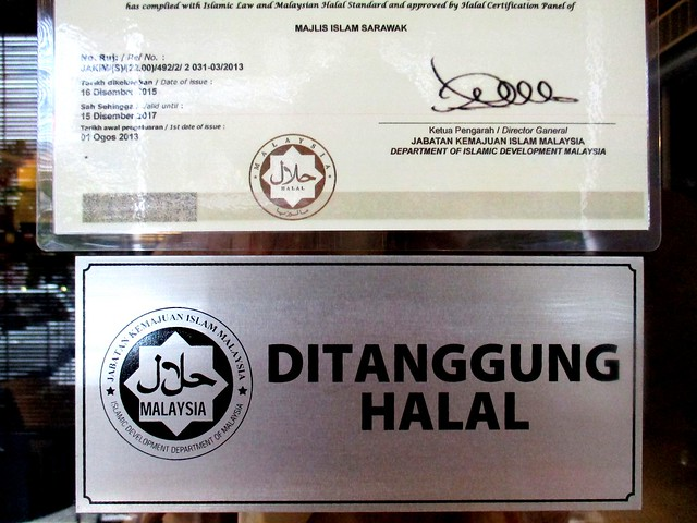 Certified halal by Jakim