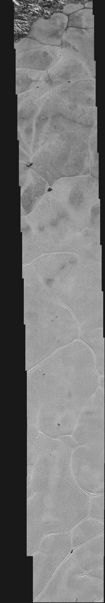 VCSE - Mai kép - Szputnyik Planum mozaik részlet - New Horizons, NASA