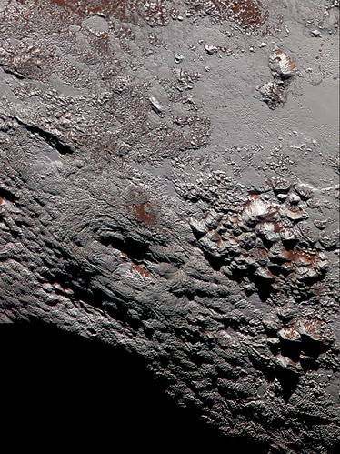 VCSE - Wright hegység egy lehetséges jégvulkán - NASA, New Horizons