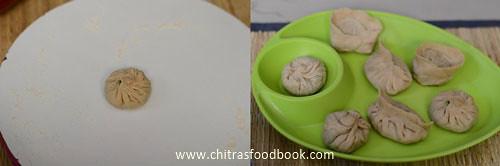 wheat flour veg momos recipe
