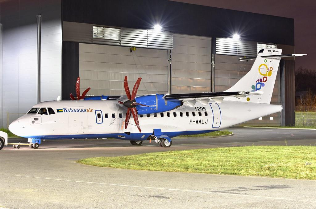 Bahamas Air Atr 42 600 C6 Bfs First Atr 42 For Bahamas