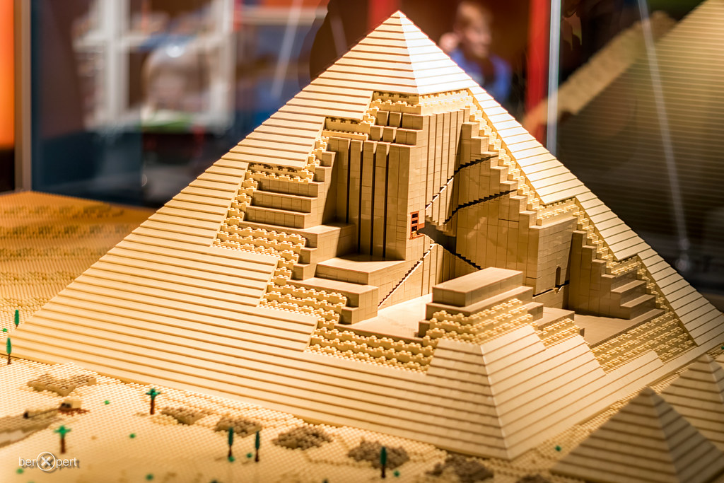 How To Build A Pyramid Model For School