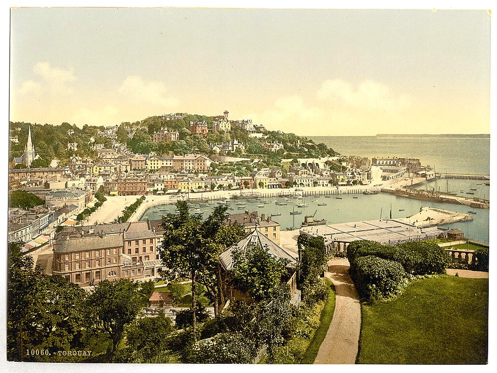 From Waldren Hill, Torquay, Devon