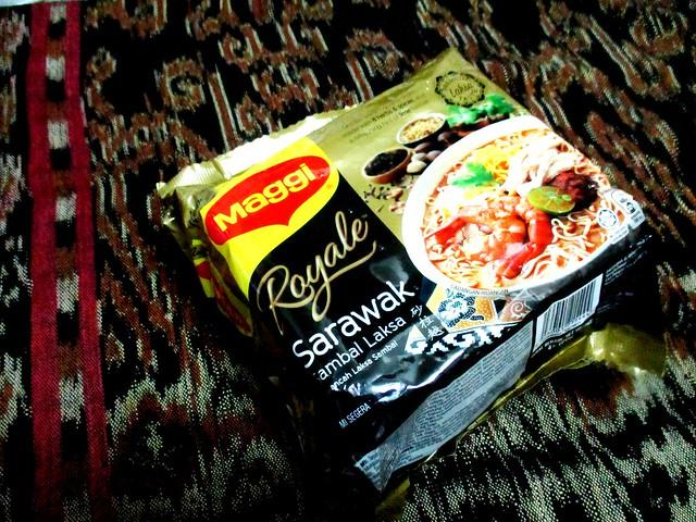 Maggi Royale Sarawak sambal laksa 1