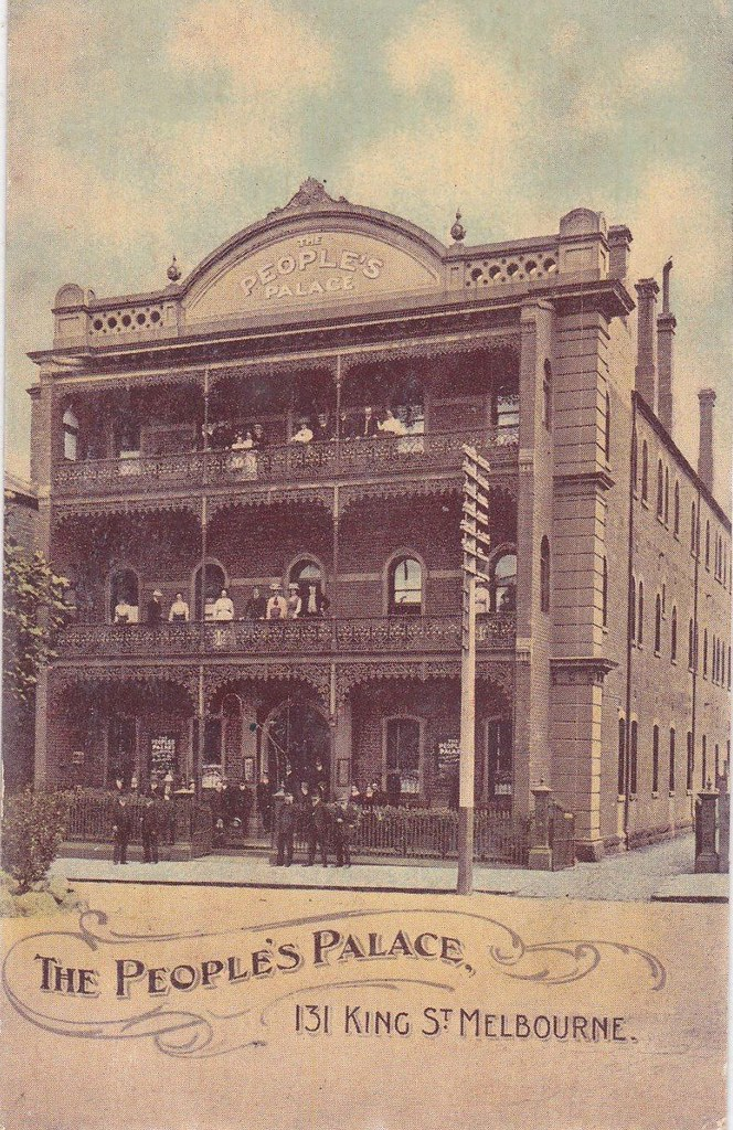 The People's Palace, 131 King Street, Melbourne - very ear ...