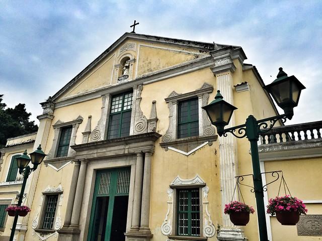 Iglesia de Santo Agostinho (Macao)