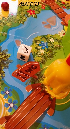 jeu de société Giraf'fun wc