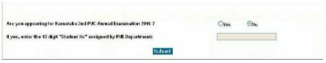 Karnataka CET 2017 Application Form