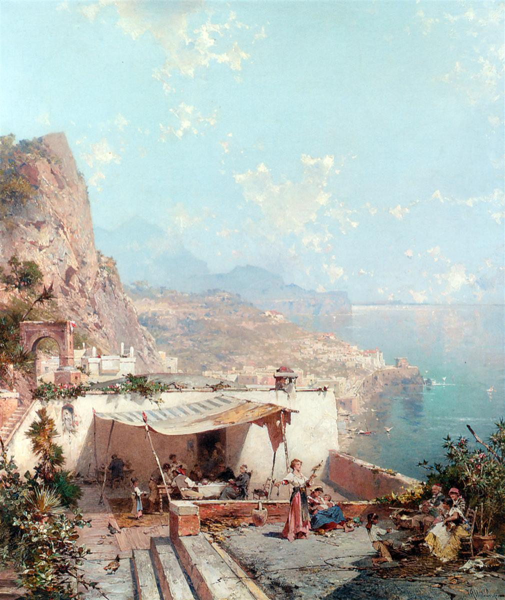Amalfi, The Gulf Of Salerno