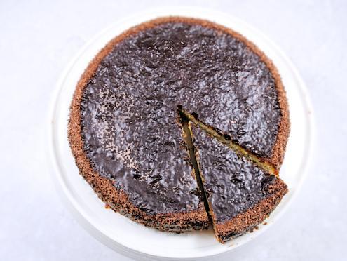 hazelnut ricotta torte
