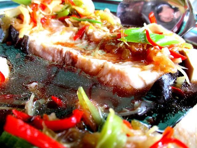 Tung Seng steamed tapah 2