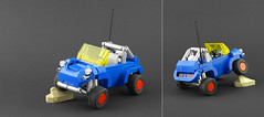 VW Dune Buggy by Legopard