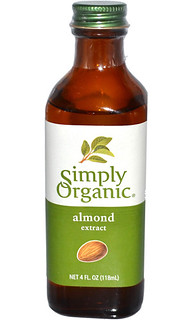 simply organic pure almond extract