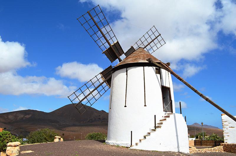Windmill, Tiscamanita, Fuerteventura