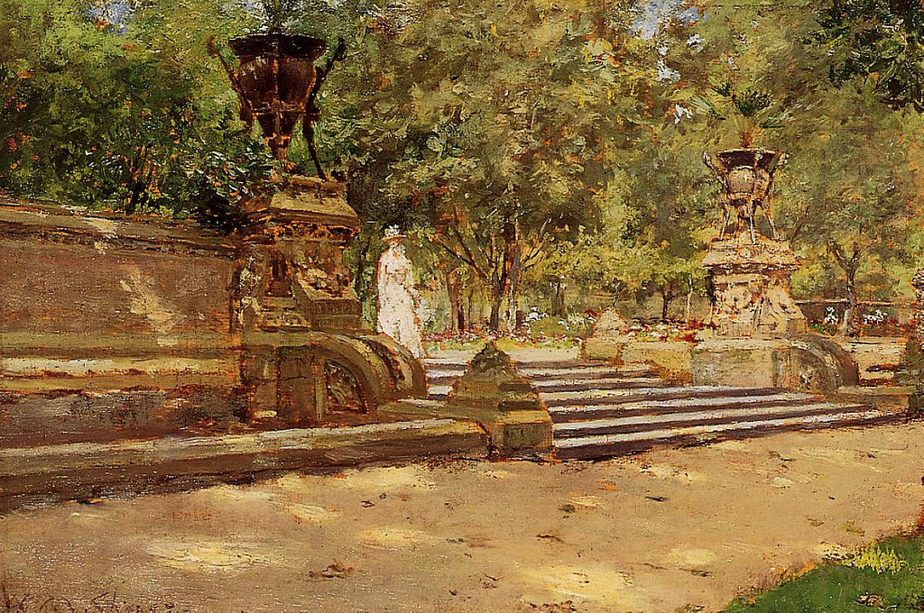Prospect Park, Brooklyn by William Merritt Chase, 1887