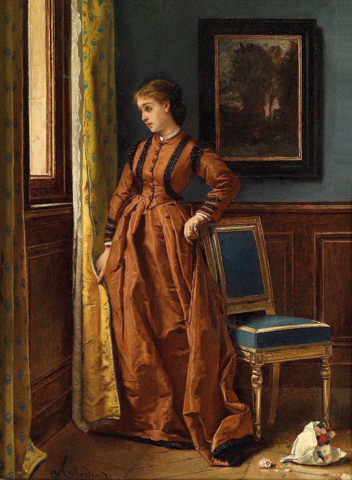 Déjà by Alfred Stevens, 1863