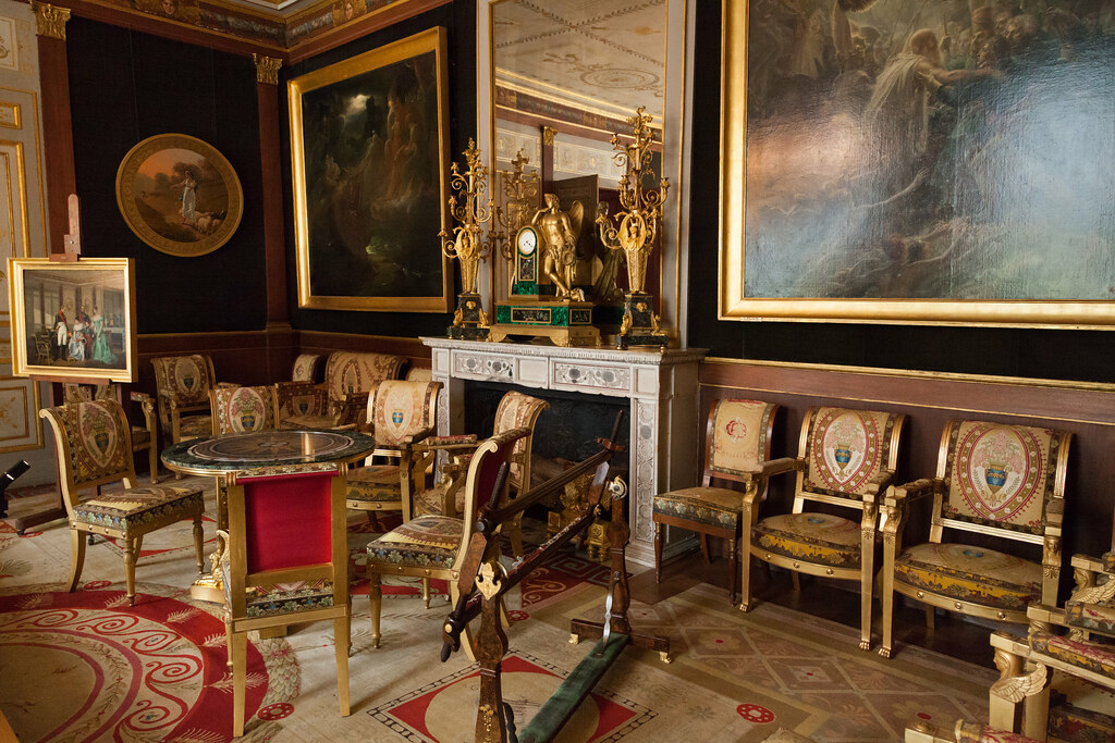 The gilded room le salon dor ch teau de malmaison flickr - Chateau de beauharnais ...