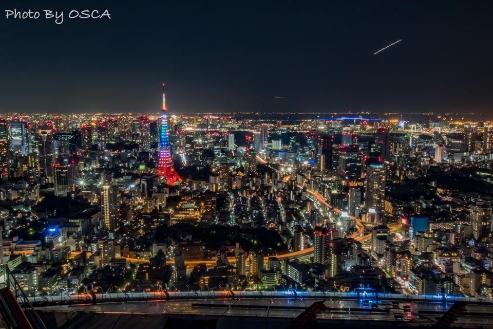 六本木ヒルズ 展望台 東京シティビューから眺める夜景